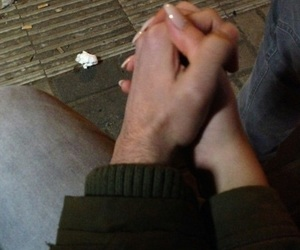 couple, tumblr, and Relationship image