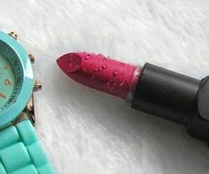 lips, batom, and makeup image