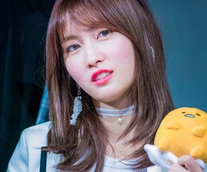 momo, twice, and fansign image