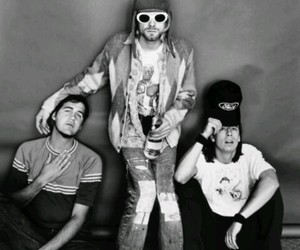 grunge, nirvana, and kurtcobain image