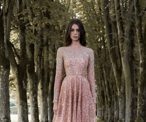 dress, pink, and paolo sebastian image