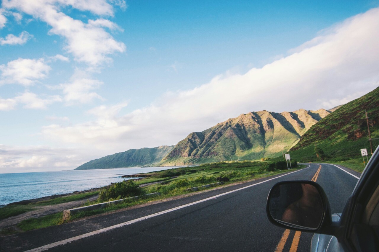 car, road, and traveling image