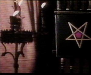occult, vhs, and pentagram image