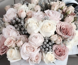 flowers, roses, and pastel image