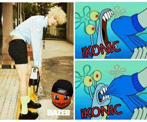 Ikon, kpop, and meme image