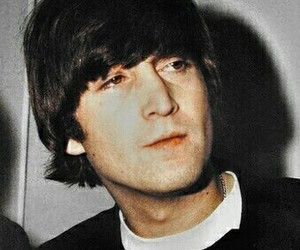 beatles, john lennon, and wallpaper image