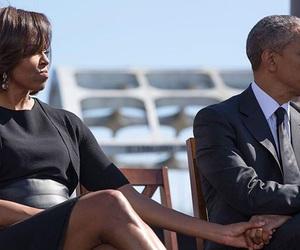 michelle obama, barack obama, and president image