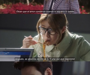 amor, frases, and kdrama image