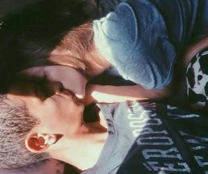 couple, kiss, and kisser image