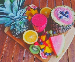 beauty, 🍍, and colored image