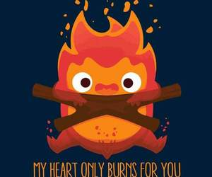quote and calcifer image
