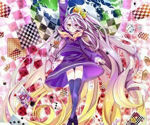 anime girl, shiro, and anime wallpaper image