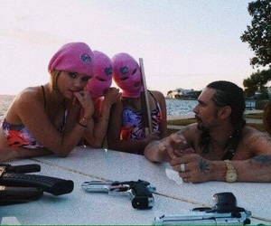 spring breakers, james franco, and ashley benson image