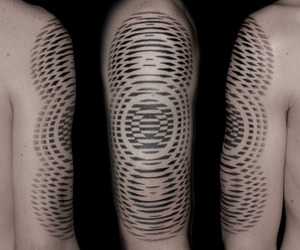 3d, tattoo, and psycodelic image