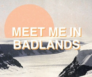halsey, badlands, and aesthetic image