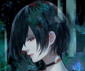 anime, anime girl, and touka image