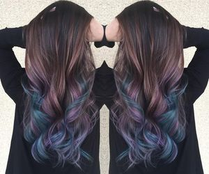 glamour, pastel, and rainbowhair image