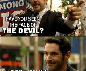 lol, lucifer, and quote image