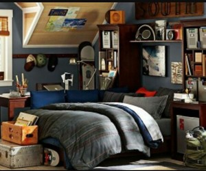 bedroom and boy image
