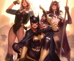 batgirl, Black Canary, and DC image