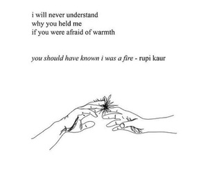 poem, quotes, and rupi kaur image