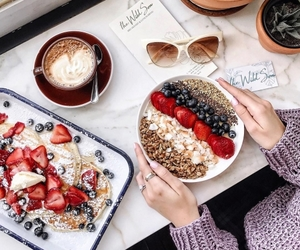 food, breakfast, and fashion image