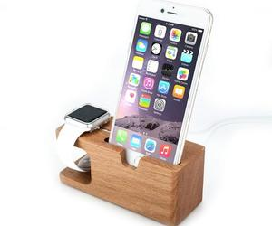 accessory, wooden, and apple image