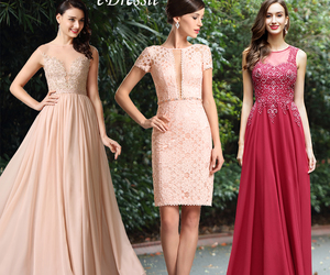 fashion, lace, and prom dresses image