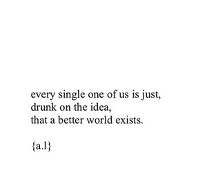 quotes, drunk, and sad image