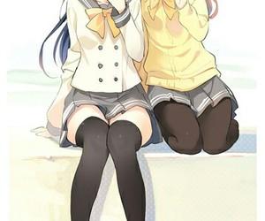 anime girl, kawaii, and beautiful image