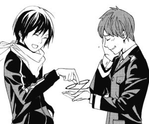 anime, monochrome, and yato image