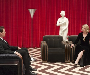 Laura Palmer, Twin Peaks, and black lodge image