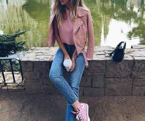 pink and style image