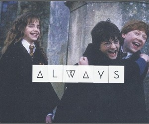 always, harry potter, and ron image
