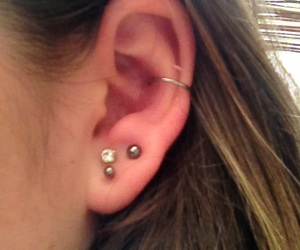 conch, piercing, and cartilage image