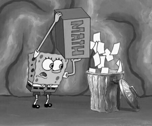 aesthetic, grunge, and sponge bob square pants image