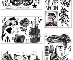 tattoo, styles, and 1d image