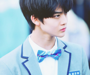 handsome, bae jinyoung, and uniform image