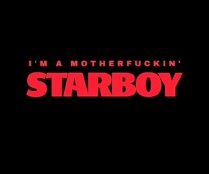 starboy, the weeknd, and red image