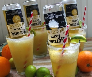 corona, drink, and beer image