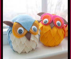 crafts, owls, and diy toys image