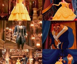 beauty and the beast, romance, and love image