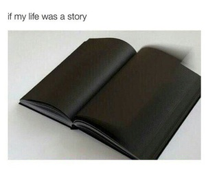 black, book, and life image