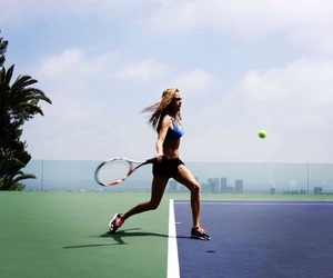 cara delevingne and tennis image