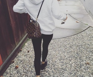 backpack, Louis Vuitton, and LV image