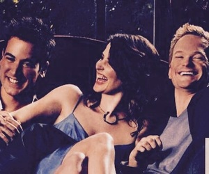 robin, how i met your mother, and barney image