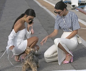 kourtney kardashian and kendall jenner image