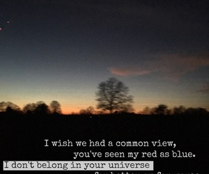blue, Lyrics, and Sigrid image