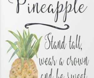pineapple and inspiringquotes image