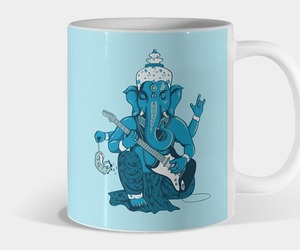 blue, funny, and Ganapati image